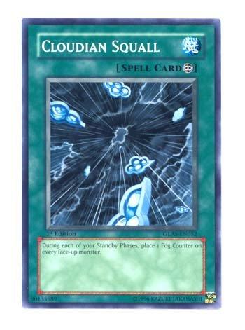 YuGiOh GX Gladiator's Assault Cloudian Squall GLAS-EN052 Common GLAS-EN052 [Toy]