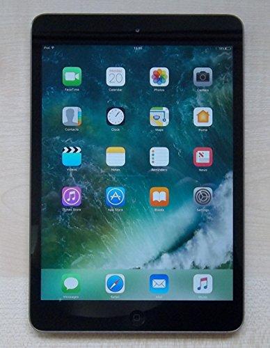 Apple iPad Mini 2 with Retina Display ME276LL/A (16GB, Wi-Fi, Black with Space Gray) (Certified (Ipad 2 16 Gb Refurbished)
