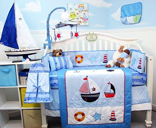 - SoHo Baby Crib Bedding 10Pc, ShipHoy