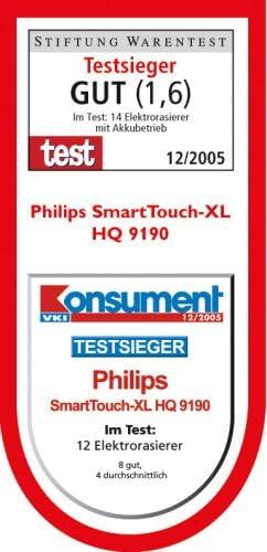 Philips SmartTouch-XL HQ9190/22 Máquina de afeitar de rotación Recortadora - Afeitadora (Máquina de afeitar de ...