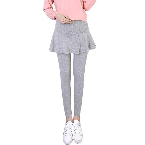 STRIR Las polainas de maternidad Embarazo maternidad falda pantalón Mini vestido las mujeres postparto pantalones de