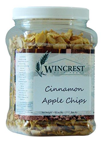 Dried Cinnamon Apple Chips - 1 Lb Tub