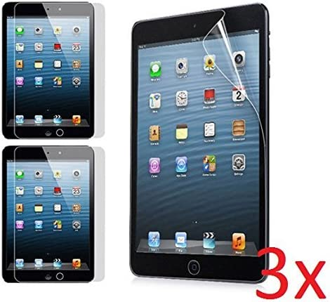 5x Ultra Clear Screen Protector Shield Cover Guard Film for Apple iPad Mini