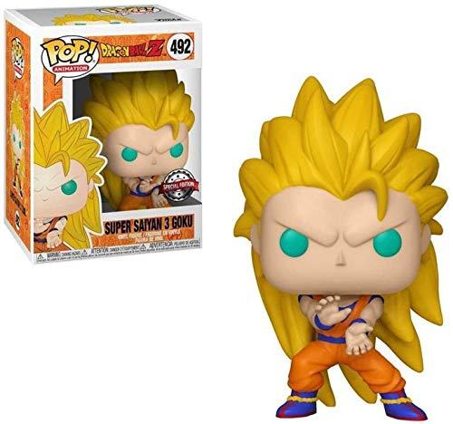 (Pop Animation Dragon Ball Z - Super Saiyan 3 Goku Pop! Vinyl Figure)