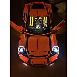 LED Light Up Kit For TECHNIC Porsche 911 GT3 RS Model - Compatible With Lego 42056 Building Blocks Toy (NOT Included The Model Set)