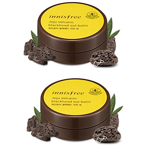 Innisfree Jeju Volcanic Blackhead Out Balm 1.06 Oz/30g x 2