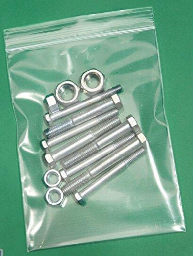 6 Mil Zip Lock Bags - 4