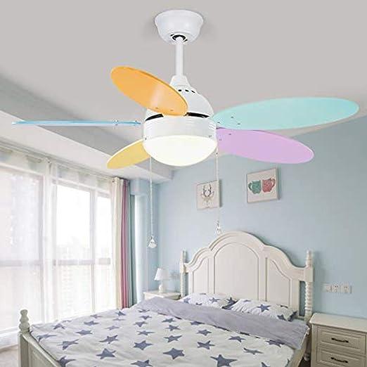 WENZHEN Ventilador de Techo LED con Control Remoto Regulable ...