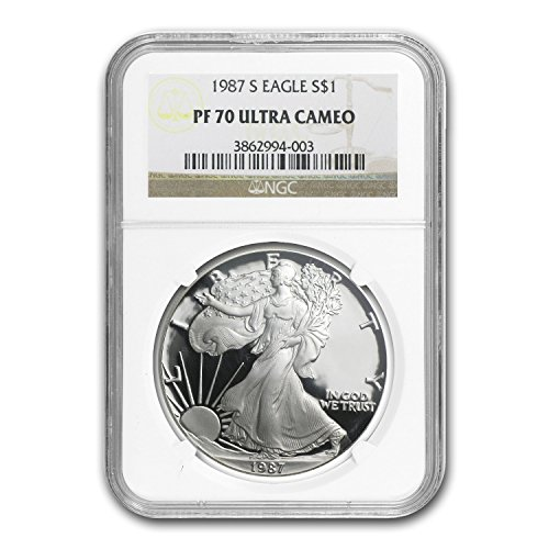 1987 S Proof Silver American Eagle PF-70 NGC Silver PR-70 NGC