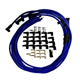 305 spark plug wires - 9.5 mm Blue 90 Degree Distributor Spark Plug Wires for Chevy BBC SBC SBF 302 350