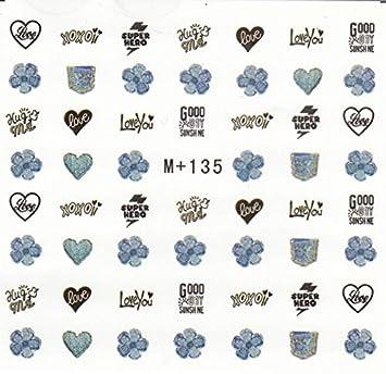 Amazon com: Stickers & Decals - Winter Love Heart Star