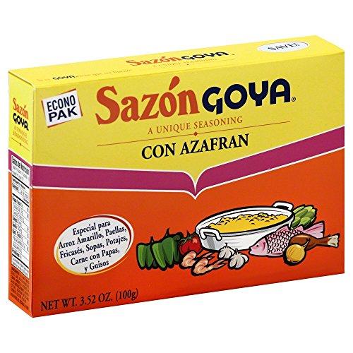 Goya Sazon Azafran Econopak 3.52 OZ(Pack of 3) ()