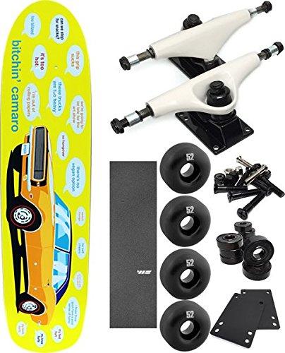 最新デザインの Enjoi Skateboards Bitchin Bitchin 67 Camaroクルーザースケートボード7.75