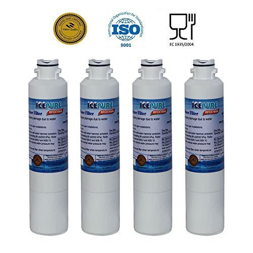 IcePure RFC0700A Water Filter for Samsung Refrigerators, Pack of 4 (Kenmore French Door Refrigerator compare prices)