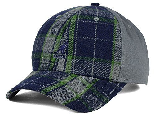 (Kangol New Slope Plaid Adjustable Fit Hat Cap One Size Fits All OSFA $35)