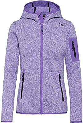CMP Womens Strickfleecejacke Mit Kapuze Fleece jacket.