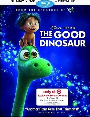 The Good Dinosaur Target Exclusive Edition Bluray