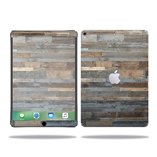"MightySkins Skin for Apple iPad Pro 10.5""  - Gray Wood Prote"