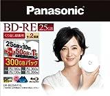 Panasonic ブルーレイディスク 日本製 くり返し録画用2倍速 25GB×10枚+50GB×1枚書換型11枚パック LM-BE25W11G