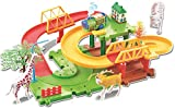 Saffire Animals 11 Multilevel Train Set, Multi Color