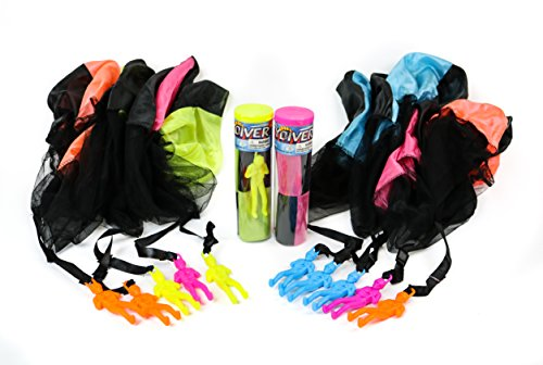 boley-12-pk-tangle-free-toy-parachute-party-pack-parachute-skydiver-men-perfect-for-parties-and-gift