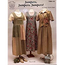 Taylor Made Designs Pattern TMB-141 Jumpers, Jumpers, Jumpers! Sizes 6 - 22 by Cindy Taylor Oates