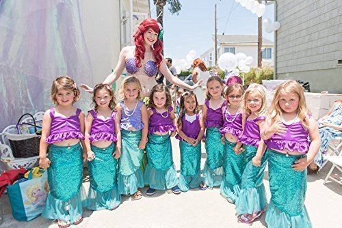 (Girl mermaid costume Girl halloween costume Girl mermaid outfits Kids halloween)
