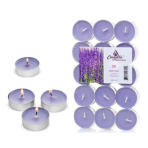 Candle Charisma Tealights Lavender Scented product image