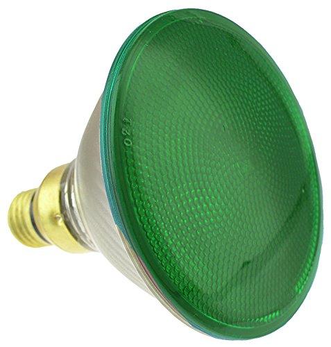 y-Efficient Halogen 90-Watt (120-watt replacement) 1790-Lumen Green PAR38 Floodlight Bulb with Medium Base, 1-Pack ()