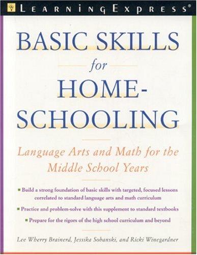 Amazon.com: Basic Skills for Homeschooling: Reading, Writing, and ...