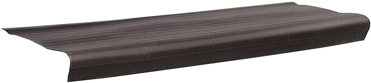 24 Pack M-D Building Products 75572 Residential 9-1//8-Inch by 24-Inch Vinyl Stair Treads Brown