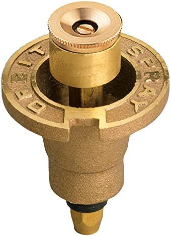 Orbit 5 Pack Full Spray Pattern All Brass Pop-Up Sprinkler Head