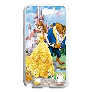 Custom Beauty and The Beast Productive Back Phone Case For Samsung Galaxy Note 2 Case -Style-19