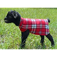 Fleece Goat Sweater - Goat Kid Pajamas - Baby Lamb Sweater -Single Thickness Animal Jacket Coat