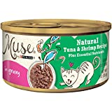 Muse by Purina Natural Gravy Wet Cat Food; Tuna & Shrimp Recipe - 3 oz. Can
