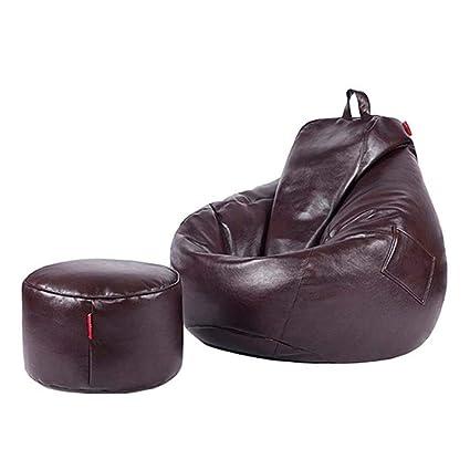 Fantastic Amazon Com Ainiyf Pu Leather Bean Bag Lazy Sofa Comfortable Pabps2019 Chair Design Images Pabps2019Com