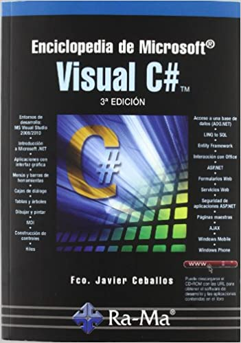 Enciclopedia de Microsoft Visual c# (3ª Ed.): Fco. Javier Ceballos Sierra: 9788478979868: Amazon.com: Books