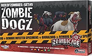 Fantasy Flight Games Zombicide Zombie Dogs Board Games