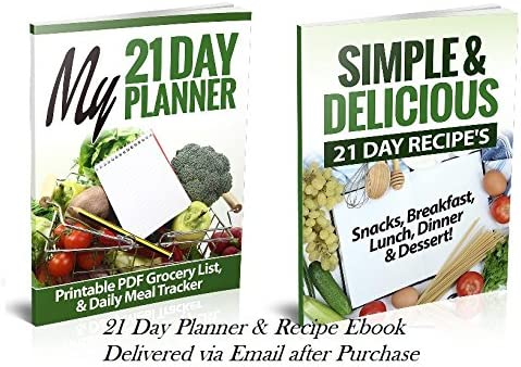 21 Day LABELED Efficient Nutrition Portion Control Containers Kit (14-Piece) + COMPLETE GUIDE + 21 DAY PLANNER eBOOK + RECIPE eBOOK, BPA FREE Color Coded Meal Prep System for Diet and Weight Loss 6