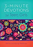 3-Minute-Devotions-for-Teen-Girls-180-Encouraging-Readings