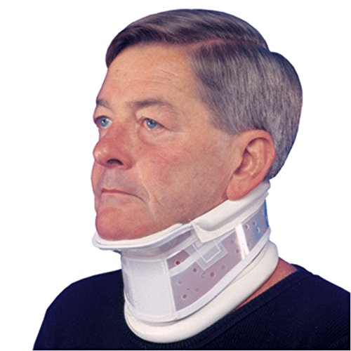 (Rigid Cervical Collar, Chin Piece, Neck and Head Stabilizer Support Splint, X-Large (19.5-21.5 inch Neck))