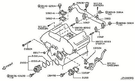 Infiniti M30 Engine