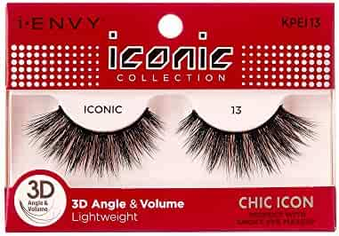 546bc55fd06 i Envy by Kiss iconic 3D Angle & Volume Lashes CHIC ICON 13 (6 Pack