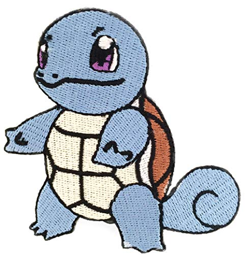 Squirtle Patch (3 Inch) Embroidered Iron or