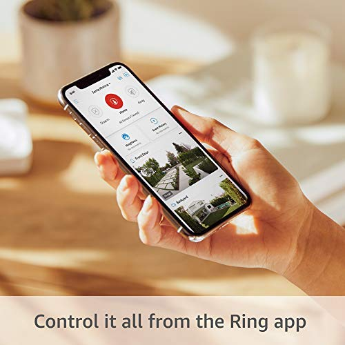 Ring Alarm 5-Piece Kit (2nd Gen) bundle with Ring Video Doorbell Wired