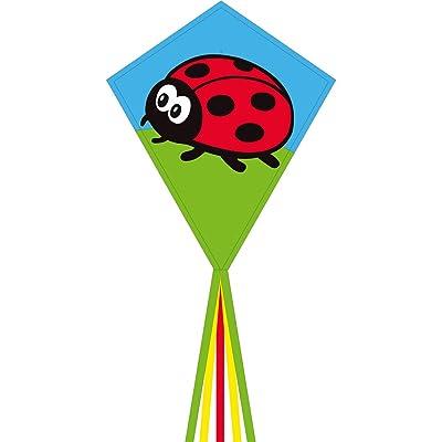 """HQ Kites Eddy Ladybug 28""""Diamond Kite: Toys & Games"""