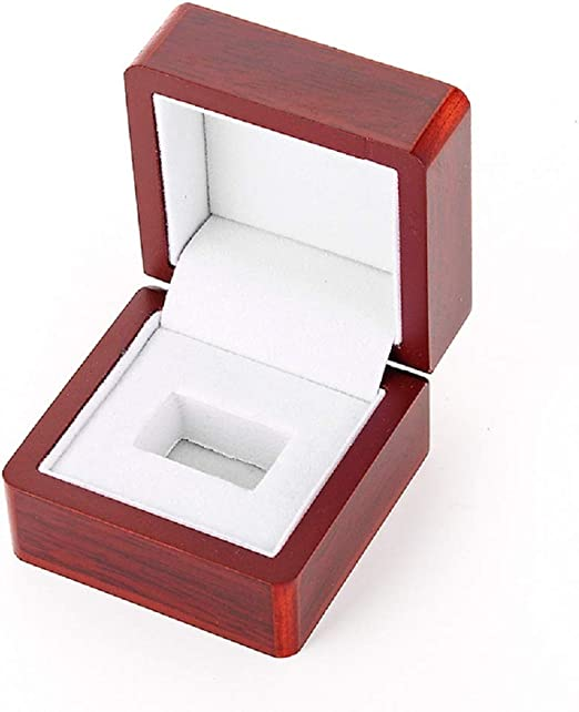 1 PC Rosewood Jewelry Display for Ladies and Mens Rings *Manufacturers Closeout*