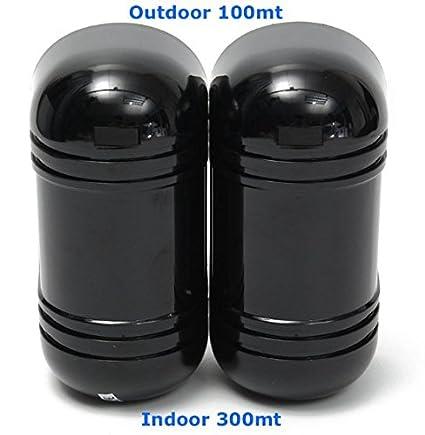 Detectores Sensoriales a Infrarrojos por Externo 100m Doble Haz de seguridad ABT-100