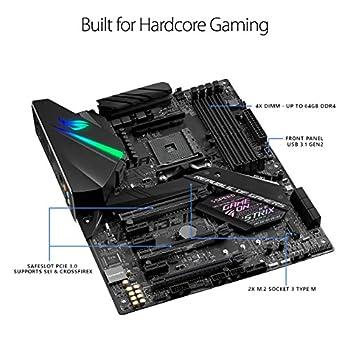 Asus Rog Strix X470-f Gaming Amd Ryzen 2 Am4 Ddr4 Dp Hdmi M.2 Atx Motherboard 3