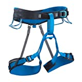 BLACK DIAMOND ASPECT CLIMBING HARNESS DEEP BLUE (LARGE)